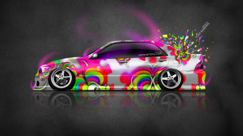 Toyota-Altezza-JDM-Side-Domo-Kun-Toy-Car-2014-Multicolors-HD-Wallpapers-design-by-Tony-Kokhan-www.el-tony.com-image