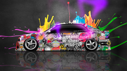 Toyota-Altezza-JDM-Side-Drift-Live-Colors-Car-2014-Multiocolors-HD-Wallpapers-design-by-Tony-Kokhan-[www.el-tony.com]
