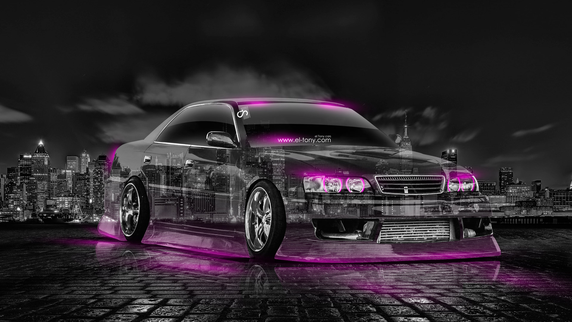 Toyota Chaser JZX100 JDM Crystal City Car 2014