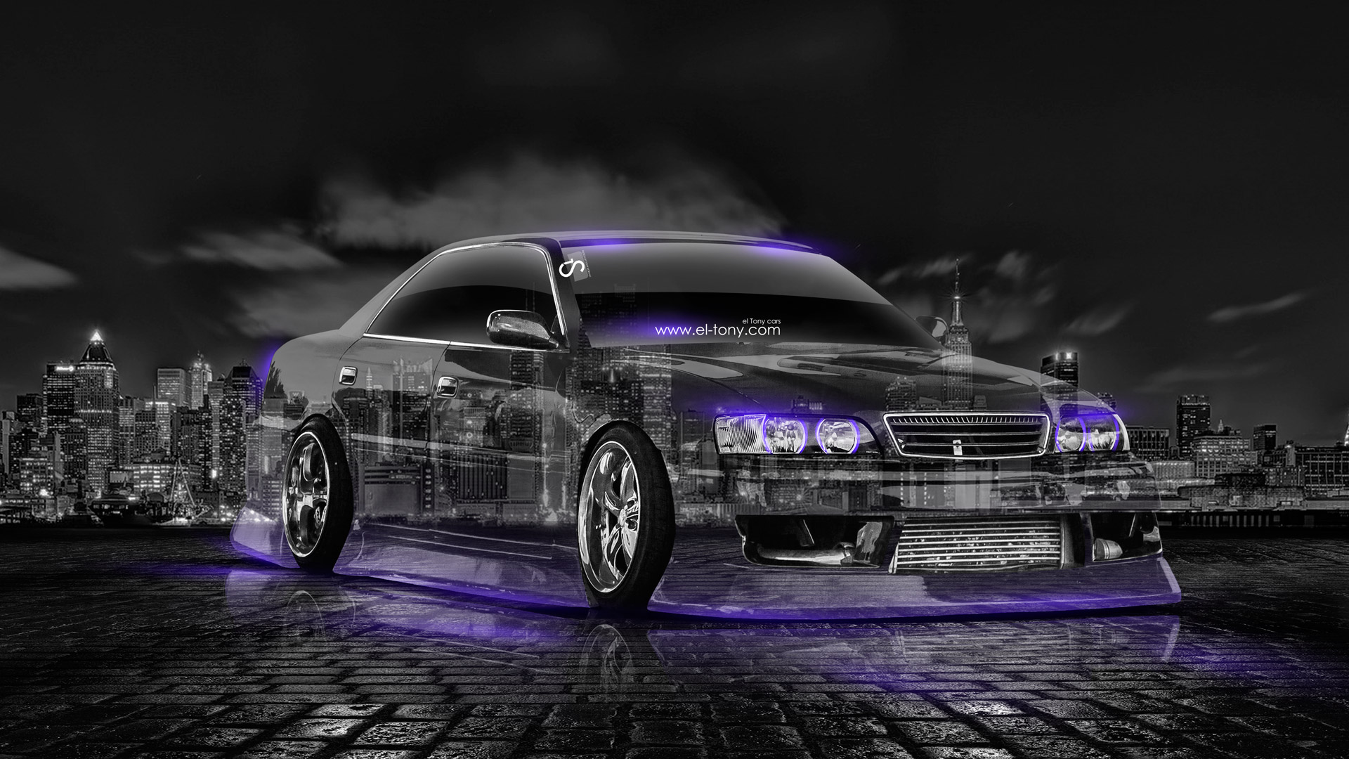 ... Toyota Chaser JZX100 JDM Crystal City Car 2014