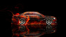 Toyota-Chaser-JZX100-JDM-Side-Fire-Abstract-Car-2014-HD-Wallpapers-design-by-Tony-Kokhan-[www.el-tony.com]