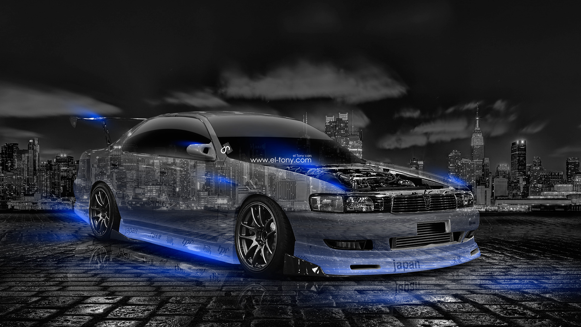 Toyota Chaser JZX90 JDM Tuning Crystal City Car