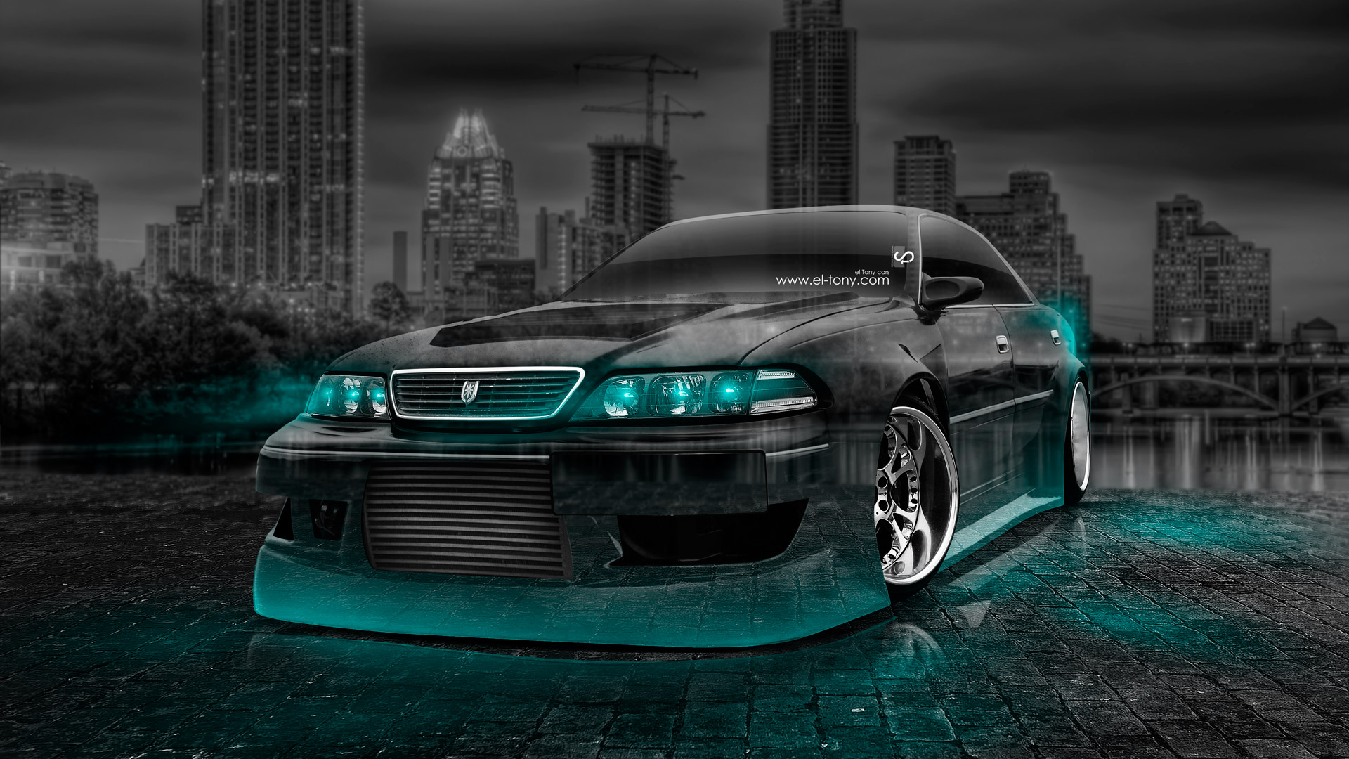 ... Toyota Mark 2 JZX100 JDM Tuning Crystal City
