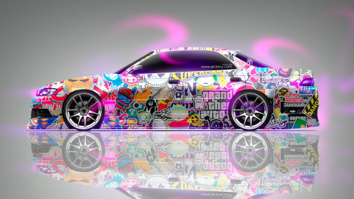 Toyota-Mark-2-JZX90-JDM-Side-Aerography-Drift-Car-2014-Multicolors-HD-Wallpapers-design-by-Tony-Kokhan-[www.el-tony.com]