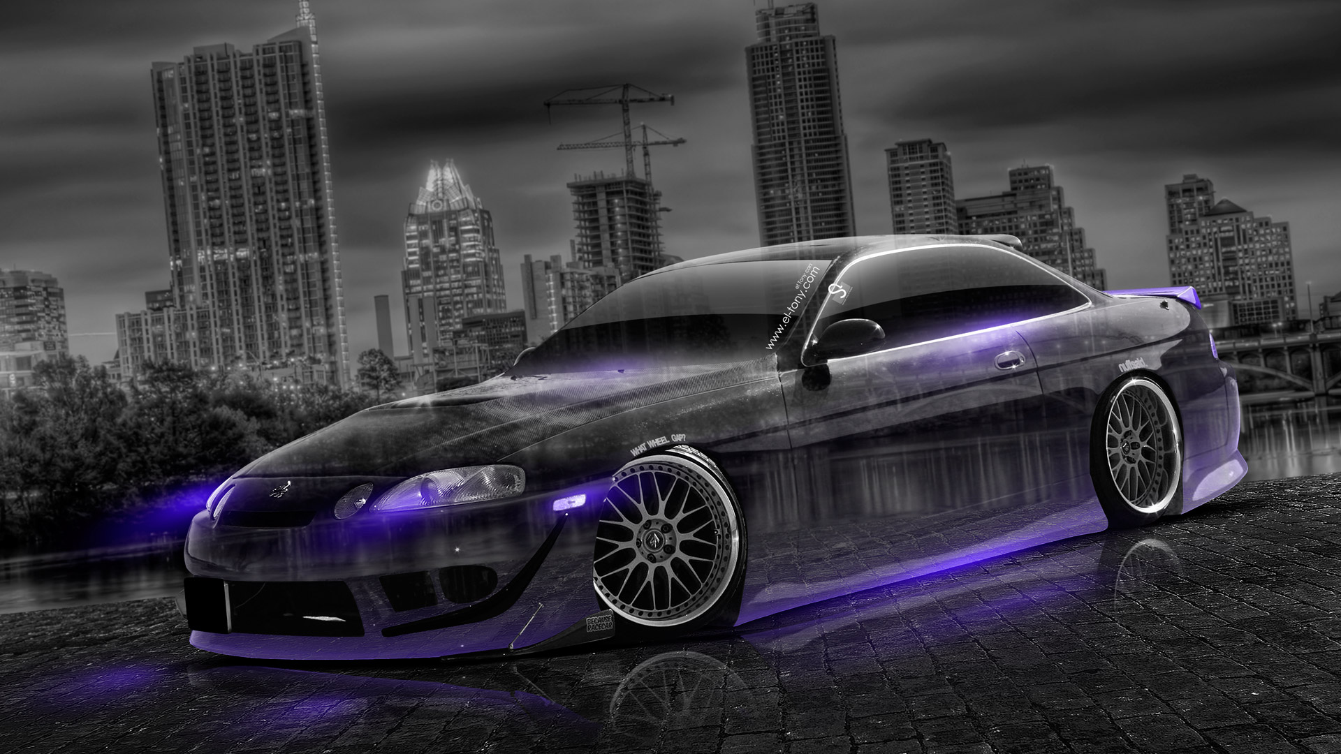 Charmant Toyota Soarer JDM Tuning Crystal City Car 2014 .