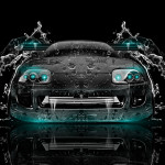 Toyota Supra JDM Front Water Car 2014