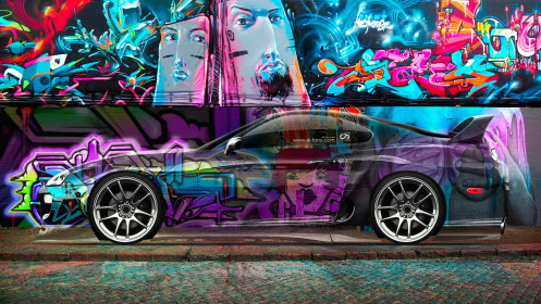 Toyota-Supra-JDM-Graffiti-Side-Crystal-Car-2014-Multicolors-HD-Wallpapers-design-by-Tony-Kokhan-[www.el-tony.com]