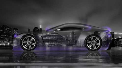 Aston-Martin-One77-Side-Crystal-City-Car-2014-Violet-Neon-HD-Wallpapers-design-by-Tony-Kokhan-[www.el-tony.com]