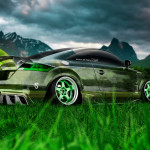 Audi TT Tuning Crystal Nature Car 2014