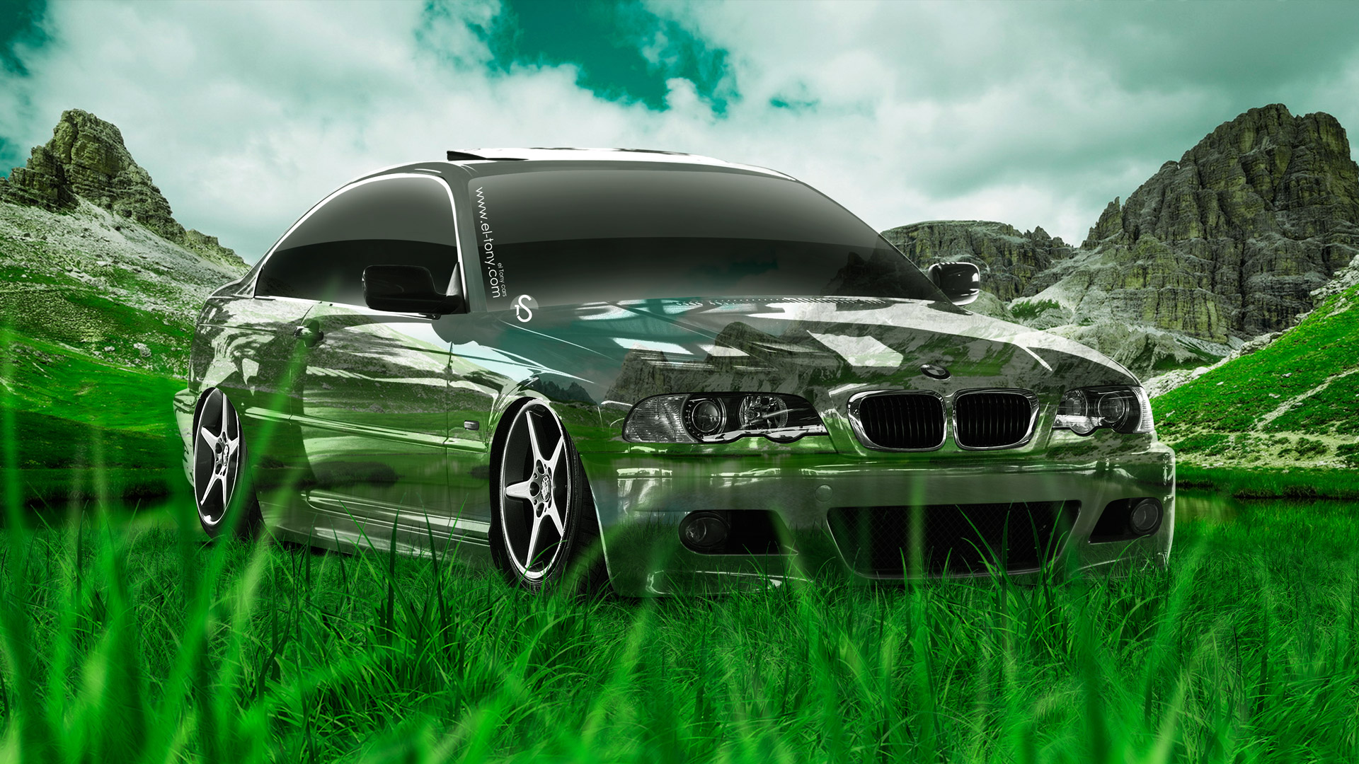 BMW M3 E46 Crystal City Car 2014 · BMW M3 Crystal Nature Car 2014