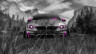 BMW-M4-Front-Crystal-Nature-Car-2014-Pink-Neon-HD-Wallpapers-design-by-Tony-Kokhan-[www.el-tony.com]