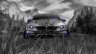 BMW-M4-Front-Crystal-Nature-Car-2014-Violet-Neon-HD-Wallpapers-design-by-Tony-Kokhan-[www.el-tony.com]