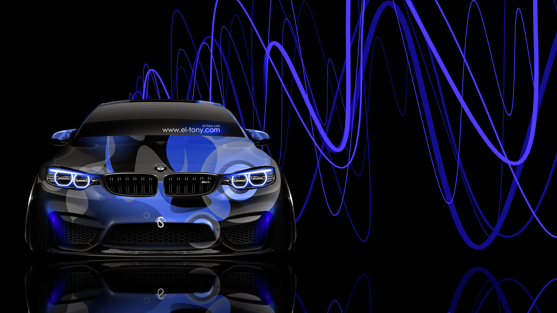 Bmw M4 Front Super Abstract Aerography Car 2014 El Tony