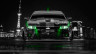 Chevrolet-Camaro-Z28-Muscle-Front-Crystal-City-Car-2014-Green-Neon-HD-Wallpapers-design-by-Tony-Kokhan-[www.el-tony.com]