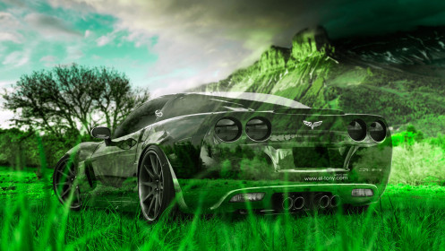 Chevrolet-Corvette-Z06-Crystal-Nature-Car-2014-HD-Wallpapers-design-by-Tony-Kokhan-[www.el-tony.com]