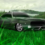 Dodge Charger SRT Retro Crystal Nature Car 2014