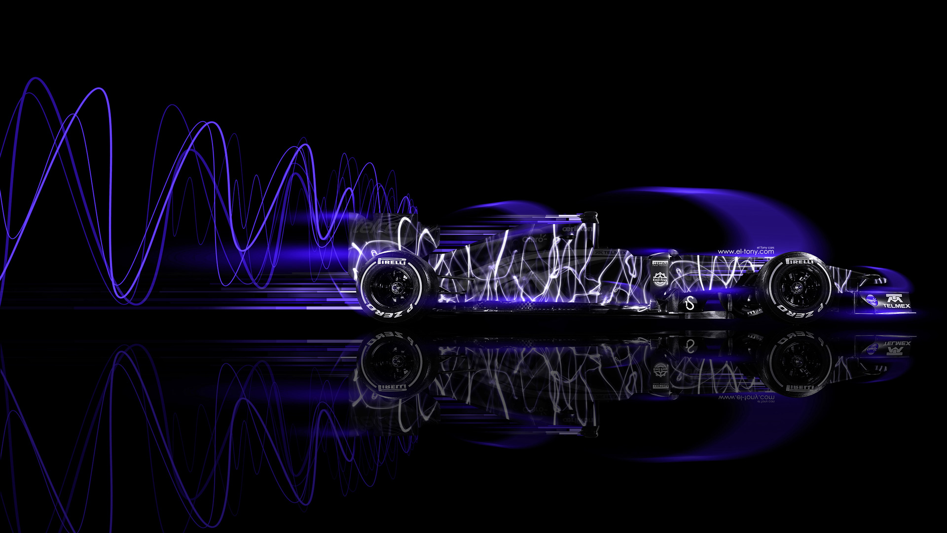 F1-Formula-1-Side-Super-Abstract-Speed-Car-2014-Violet-Neon-HD-Wallpapers-design-by-Tony-Kokhan-[www.el-tony.com]