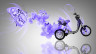 Fantasy-Mini-Moto-Butterfly-Flowers-Bike-2014-Violet-Neon-HD-Wallpapers-design-by-Tony-Kokhan-[www.el-tony.com]