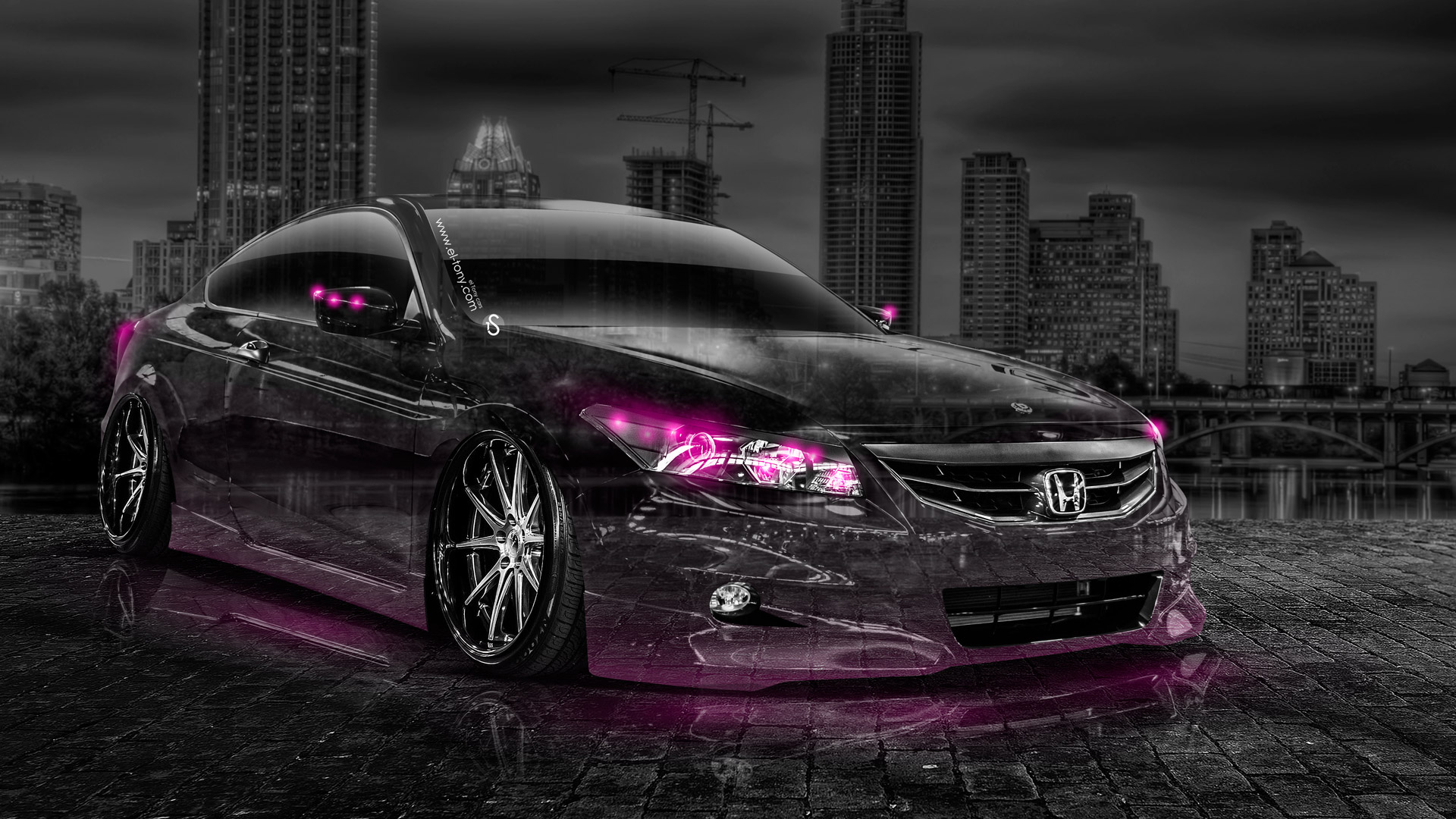 Honda Accord Coupe JDM Crystal City Car 2014 | el Tony