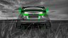 Honda-Civic-Type-R-Back-Crystal-Nature-Car-2014-Green-Neon-HD-Wallpapers-design-by-Tony-Kokhan-[www.el-tony.com]