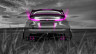 Honda-Civic-Type-R-Back-Crystal-Nature-Car-2014-Pink-Neon-HD-Wallpapers-design-by-Tony-Kokhan-[www.el-tony.com]
