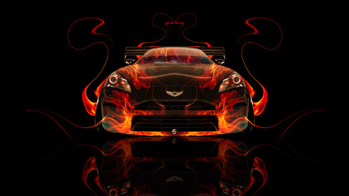 Hyundai-Genesis-Coupe-Front-Fire-Abstract-Car-2014-HD-Wallpapers-design-by-Tony-Kokhan-[www.el-tony.com]