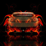 Infiniti G37 Back Fire Abstract Car 2014