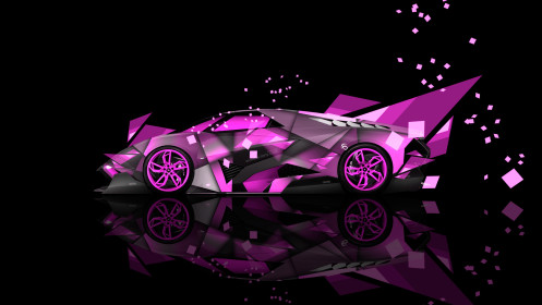 Lamborghini-Egoista-Side-Super-Abstract-Car-2014-Photoshop-Pink-Colors-HD-Wallpapers-design-by-Tony-Kokhan-[www.el-tony.com]