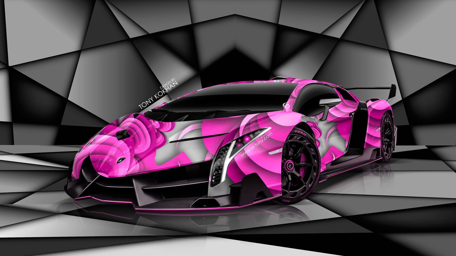 Lamborghini Veneno Super Aerography Car 2014 | el Tony