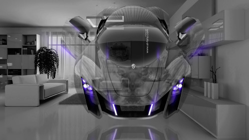 Marussia-Russian-Car-Fantasy-Crystal-Home-Fly-Car-Open-2014-Violet-Neon-design-by-Tony-Kokhan-[www.el-tony.com]