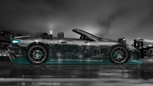 Maserati-GranCabrio-Side-Crystal-City-Car-2014-Azure-Neon-HD-Wallpapers-design-by-Tony-Kokhan-[www.el-tony.com]
