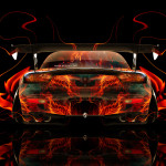 Mazda RX7 JDM Back Fire Abstract Car 2014