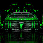 Monster Energy Honda NSX Back Plastic Car 2014