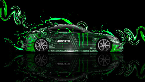 Monster-Energy-Infiniti-G37-Side-Plastic-Green-Live-Colors-Car-2014-HD-Wallpapers-design-by-Tony-Kokhan-[www.el-tony.com]