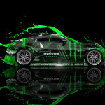 Monster Energy Nissan 370Z JDM Side Live Colors Car 2014