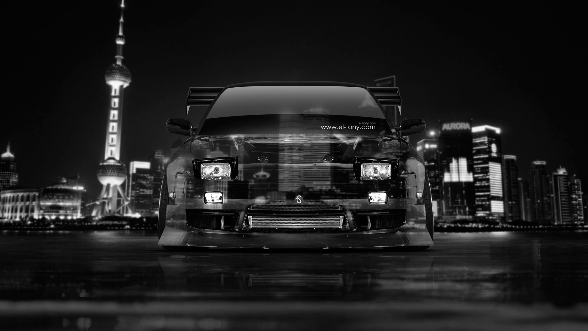 Marvelous Ordinaire Nissan 180SX JDM Front Crystal City Car 2014