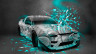 Nissan-180SX-JDM-Style-Domo-Kun-Toy-Car-2014-Azure-Neon-HD-Wallpapers-design-by-Tony-Kokhan-[www.el-tony.com]