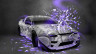 Nissan-180SX-JDM-Style-Domo-Kun-Toy-Car-2014-Violet-Neon-HD-Wallpapers-design-by-Tony-Kokhan-[www.el-tony.com]