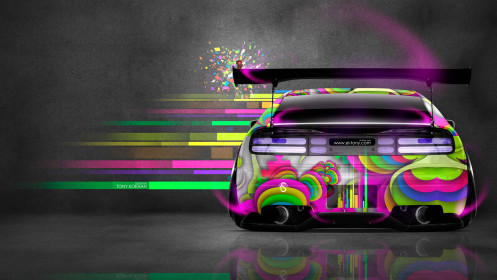 Nissan-300ZX-JDM-Back-Domo-Kun-Toy-Car-2014-Multicolors-HD-Wallpapers-design-by-Tony-Kokhan-[www.el-tony.com]