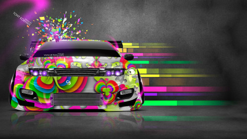 Nissan-300ZX-JDM-Style-Domo-Kun-Toy-Car-2014-Multicolors-HD-Wallpapers-design-by-Tony-Kokhan-[www.el-tony.com]
