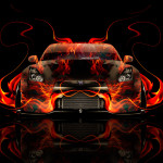 Nissan GTR R35 Tuning Front Fire Car 2014
