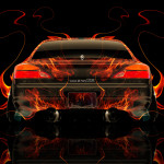 Nissan Silvia S15 JDM Back Fire Abstract Car 2014