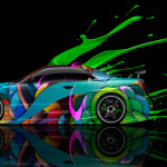 Nissan Skyline GTR R34 Side Live Colors Car 2014