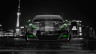 Porsche-Panamera-Front-Crystal-City-Car-2014-Green-Neon-HD-Wallpapers-design-by-Tony-Kokhan-[www.el-tony.com]