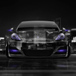 Porsche Panamera Front Crystal City Car 2014