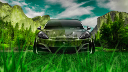 Porsche-Panamera-Front-Crystal-Nature-Car-2014-HD-Wallpapers-design-by-Tony-Kokhan-[www.el-tony.com]