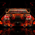 Subaru Impreza WRX STI JDM Back Fire Abstract Car 2014