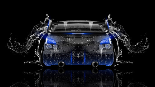 Subaru-Impreza-WRX-STI-JDM-Back-Water-Car-2014-Blue-Neon-HD-Wallpapers-design-by-Tony-Kokhan-[www.el-tony.com]