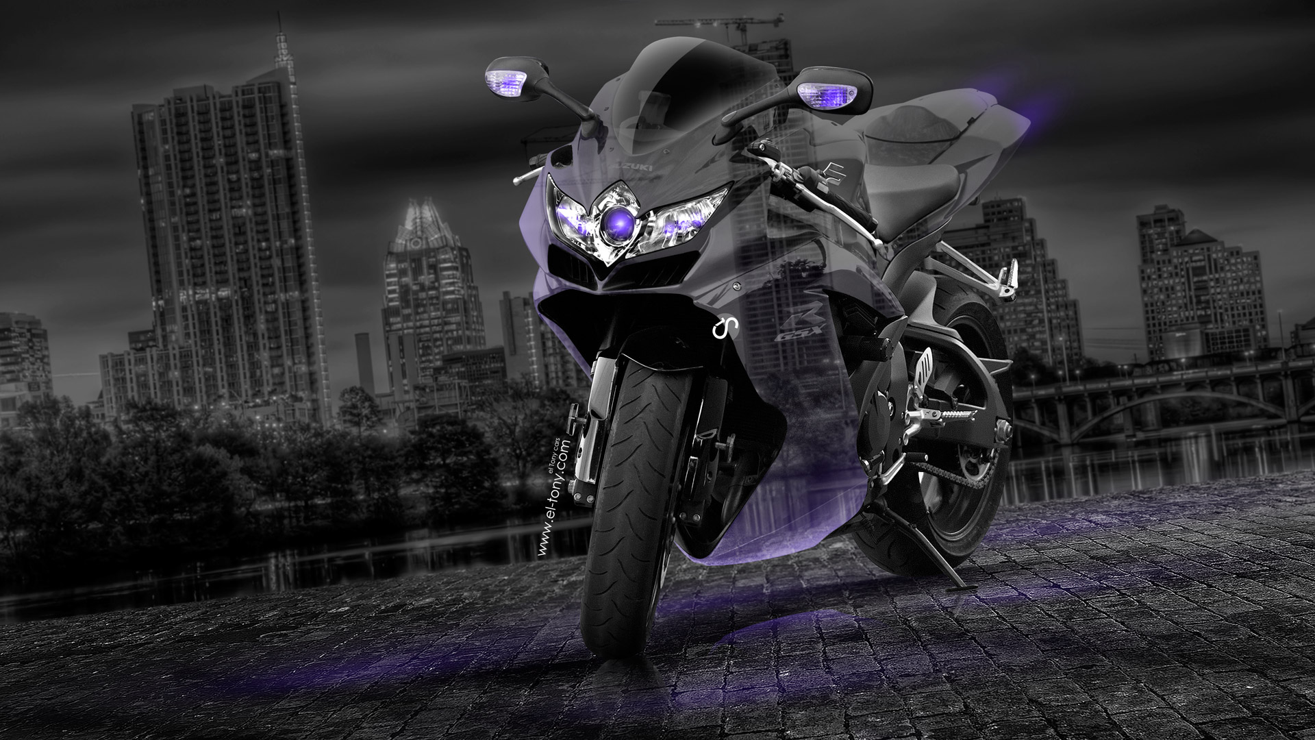 Suzuki GSX R750 Crystal City Bike 2014 | El Tony