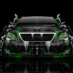 Toyota Celsior JDM Tuning Front Water Car 2014